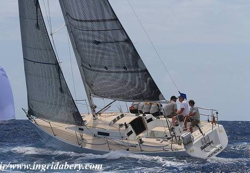 J/105 sailing St Thomas