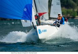 J/70 sailing Lago di Garda, Italy- Alcatel J/70 Cup