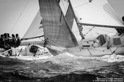 J/80s sailing off Spain