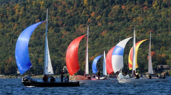 J/24s sailing Lake George, NY