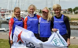 Danish youth J/70 sailors