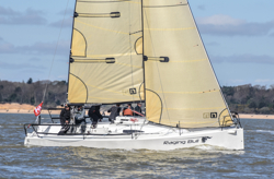 J/88 sailing Solent series