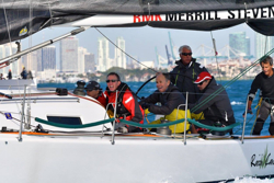 J/125 Raisin Cane sailing Miami to Havana Cuba race