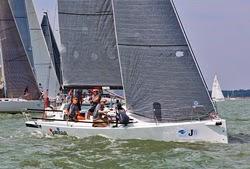 J/88 sailing on Solent