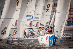 J/70s racing Sailing Champions League in Russia (St Petersburg)