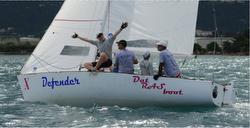 J/22 sailing Jamin Jamaica