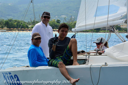 J/22 Nina sailing Jammin Jamaica regatta