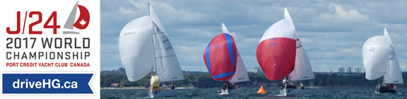 J/24 World Championship in Mississaugua, Canada
