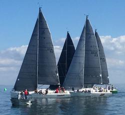 J/111s sailing J/Fest St Pete