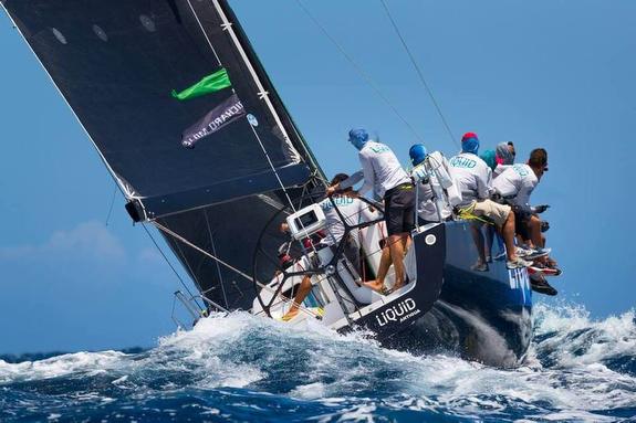 J/122 Liquid sailing Voiles de St Barths