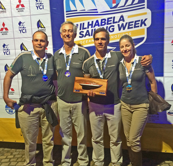 Brazil TONESSA J/70 team- Rolex Ilhabela Race Week