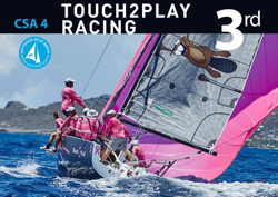 J/88 Touch2Play Racing at St Barth
