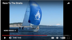 Race 2 Straits sailing video