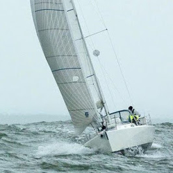 J/105 Abstract sailing Oregon Offshore race