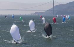 J/105 sailing J/Fest San Francisco
