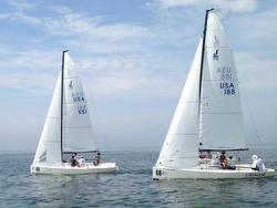 J/70 sailing Cedar Point