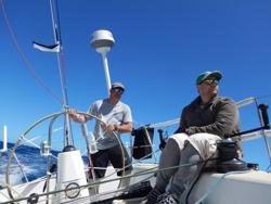 J/120 crew offshore
