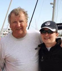 J/80 Lockwood family sailing Charleston