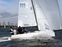 J/70 sailing fast