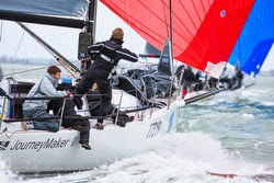 J/111 Journeymaker II sailing Hamble Winter Series