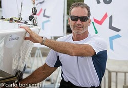 Paul Cayard- sailing J/70s at Rolex Big Boat Series