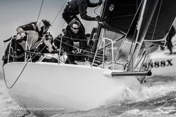 J/88 sailing Southampton Water