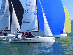 J/70 sailing Lake Constance/ Bodensee