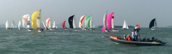 J/80s sailing China Club Challenge Cup