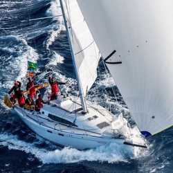 J/122E Anite in Rolex Middle Sea Race