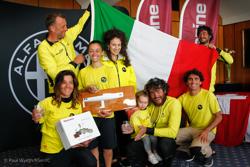 Claudia Rossi and Petite Terrible crew