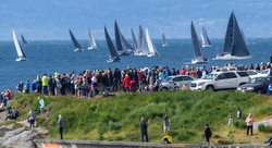 Swiftsure start off Victoria, BC