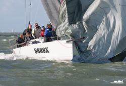 J/88 sailing Solent