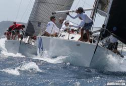 J/39 sailing Heineken Regatta