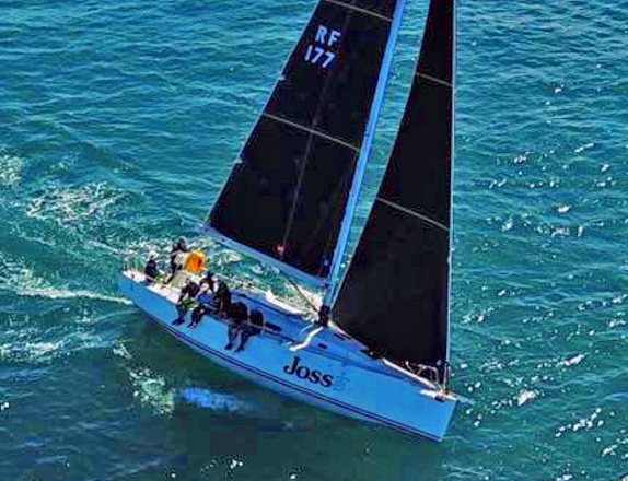J/122 Joss sailing off Australia