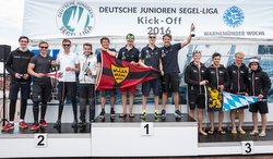 J70 German Junior Sailing League winners