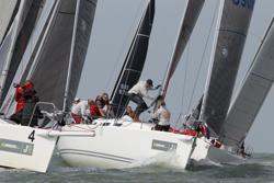 J/109 sailing J/Cup UK