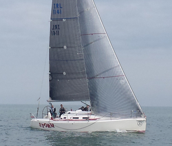 Irish J109 sailing offshore- Irish Sea