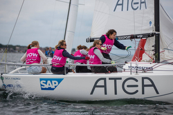 J/70 WOW- Women on Water sailing team