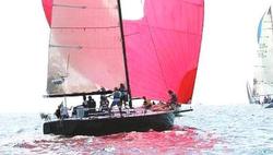J/130 sailing Marblehead to Halifax race