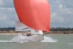J/70 Spinnaker Wealth Management sailing Warsash series