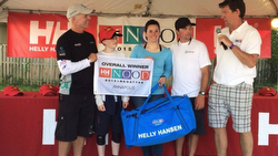 Terry Hutchinson wins J/70s at Annapolis NOOD