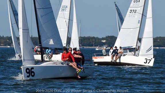 J/70 Savasana wins Tampa Bay series
