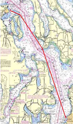 Race 2 Straits course
