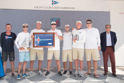 Newport Harbor YC wins J/70 team race- Porto Cervo, Sardinia