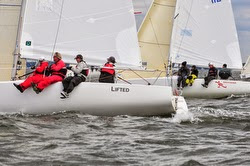 J/80 sailboat- sailing Worlds off Annapolis, MD