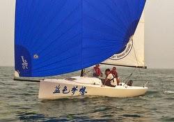 J/70 Qingdao Maritime Academy sailing team