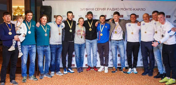 J/70 Sochi Winter Series winners