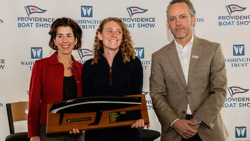 Kate Wilson RI sailor of the year