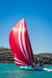 J/133 Euphoria winning Australia's Hamilton Island Race Week