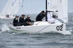J/70s sailing Corinthian Nationals